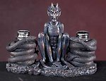 Gothic Salt/Pepper Shaker Holder-Rare!!!!