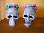 Day of The Dead Altar Candle Holder