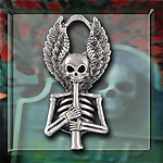 Skeleton Piper Necklace