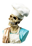 Chefs Skull-Rare, Hard To Find Last One!