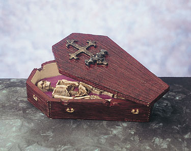 Coffin Stash Box-Ash Tray Now A Rare Find