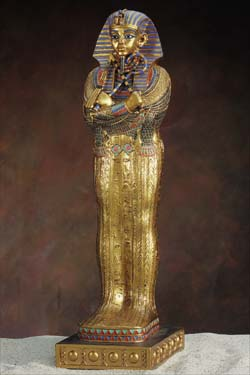 King Tut Large Sarcophagus Closed