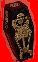 Skeleton Coffin Box-Small