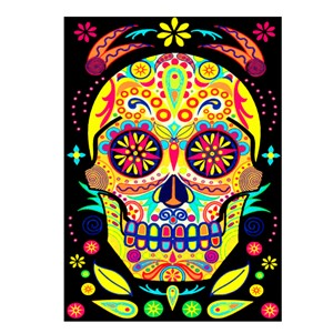 Day Of The Dead SkullCard