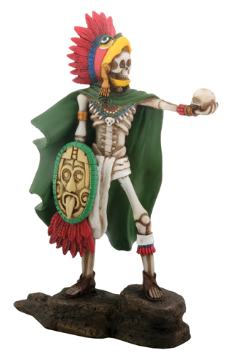 Day of The Dead Aztec Eagle Warrior