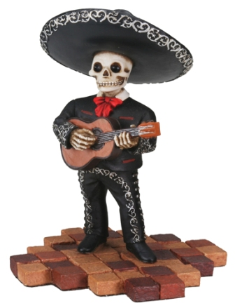 Day of The Dead Mariachi Guitarist