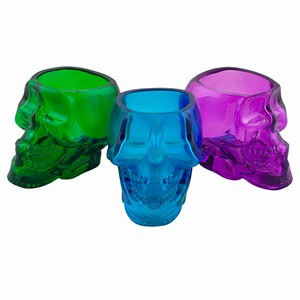 Skull Shot Glasses (3)Colored