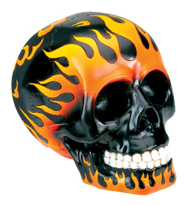 A Skull Flame