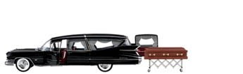 Cadillac Hearse Diecast Model-Sold Out