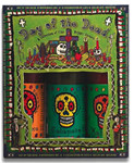 Day of The Dead Hot Sauce Three Bottle Giftpack
