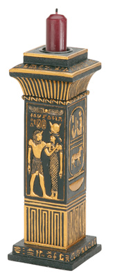 Egyptian Column Candleholder