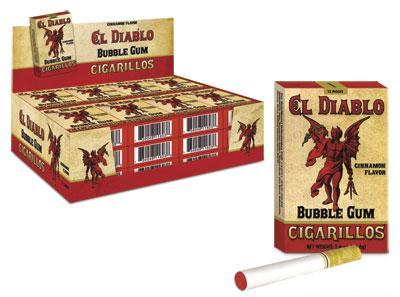 El Diablo Bubble Gum Cigarettes