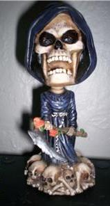 Grim Reaper Bobble Head/Boppn Head-Rare Last One!!!