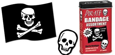 Pirate Bandages Assorted