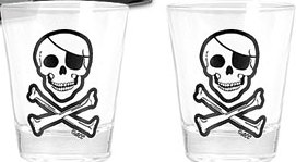 Pirate Shot Glasses-Discontinued