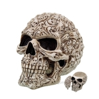 Spiritus Mortalitas Skull Candy Dish/Storage Box