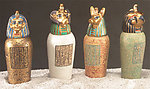 Small Canopic Jar Set