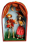 Day of The Dead Musical Couple Retablo