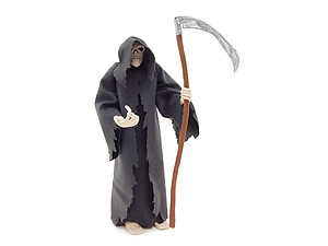Grim Reaper Plush Doll