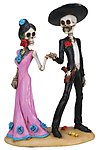 Day of The Dead Holding Hands
