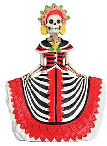 Day of Dead Lady In Red