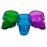 Skull Shot Glasses Colored