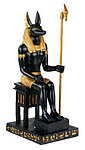 Anubis Sitting Down Statue