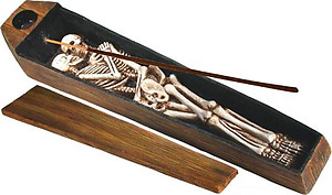 Skeletons Incense Burner