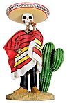 Day of Dead Sombrero Dude