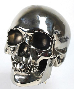 Nickelplated Skull-Sold Out