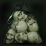 9 Mini Skull Bag of Skulls