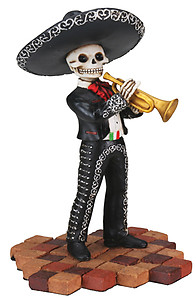 Day of The Dead Mariachi Trumpeter