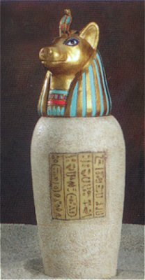 Canopic Jar Large Duamutef-Rare