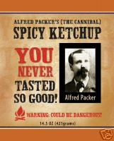 Alfred Packer Spicy Ketchup