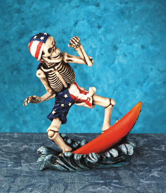 Skeleton Surf Guy