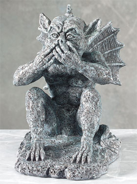 Gargoyle Speak No Evil