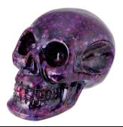 Purple Crystal Crunch Skull