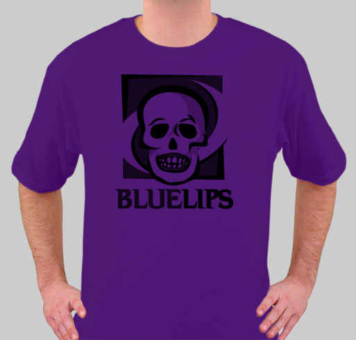 Bluelips Purple T Shirt- Sold Out