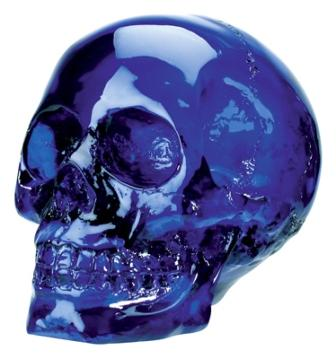 Blue Skull-Sold Out