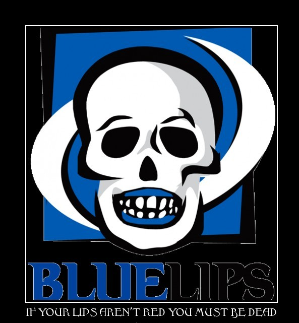 Bluelips Poster