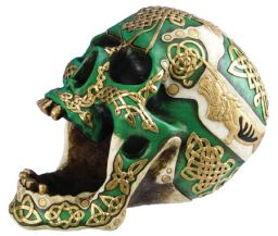 Irish Warrior / Celtic Lion Skull Rare