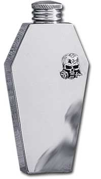 Coffin Flask With Crest
