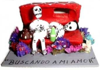 Day of The Dead Coffin/Skeleton-Discontinued
