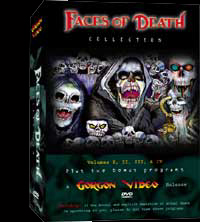 Faces of Death DVD Set-Real Deal Not Bootlegged Set