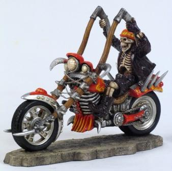 Grim Motorcycle Flamer