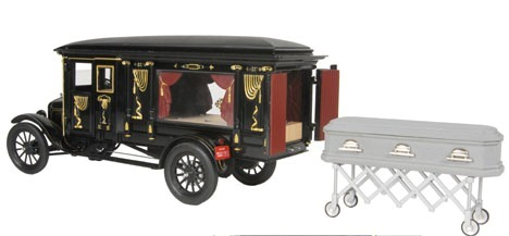 Model T Hearse-Rare Collectible