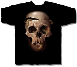 Maggot Head T Shirt