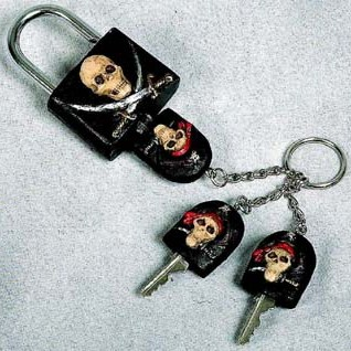 Pirate Skull Locks-Sold Out