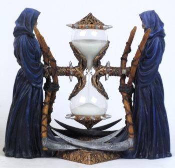 Grim Reaper Sand Timer-Discontinued Defective