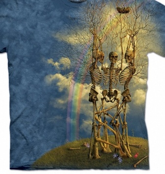 Skeleton Tree T Shirt